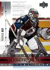 2001-02 UD Honor Roll #36 Patrick Roy