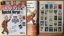 TINTIN Le Soir magazine n°3907 9 mai 2007 Spécial Hergé + timbre État neuf