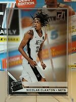 2019-20 Donruss Clearly Nicolas Claxton Rated Rookie Acetate