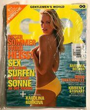 GQ JULI 2004 SEALED COPY: The Beach Issue. Barbara Becker, Kimberly Stewart.
