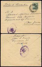 España 1939 censor militar de Puerto Rico