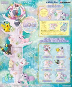 Re-Ment Miniature PokeMon Pikachu Forest Tree Part 6 Shining Place Set Rement