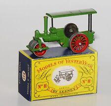 Matchbox Model of Yesteryear Y-11: Aveling & Porter Steam Roller in Reprobox