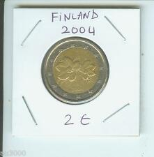 2004 2€ FINLAND 2 Euro  2 € Bimetallic Coin !!!!!!!!!