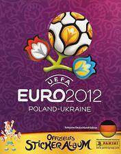 Panini Sticker EM 2012 Polen & Ukraine EURO 2012 30 Sticker aus Liste aussuchen