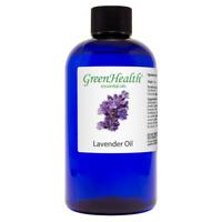 Huge 8 fl oz Lavender Essential Oil Therapeutic Grade by GreenHealth
