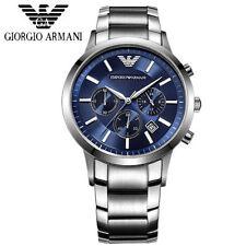 Designer Emporio Armani AR2448 Blue Dial Chronograph imported  Watch for Men