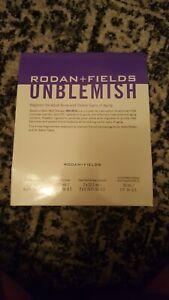 Rodan and Fields Unblemish  Adult Acne/Anti Aging Regimen Kit 2022