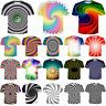 New Women Men Colorful Hypnotic Funny 3D Print T-Shirt Casual Short Sleeve Tee