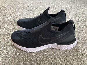Nike Epic Phantom React Flyknit Running Shoes BV0415-001 Black Women's Size 5