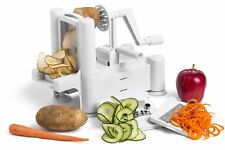 Verdure Spirale Slicer Cutter Patata Twister Curly patate fritte in acciaio inox
