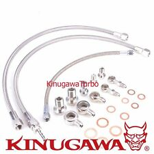 Kinugawa Oil & Water Line Kit 6AN FOR Nissan Skyline RB20DET TD05 / TD06