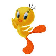Looney Tunes Bugs Bunny grau Bügelbild Aufnäher 7,1x5,9cm