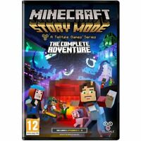 Minecraft Story Mode - The Complete Adventure PC - 1st Class FAST Delivery