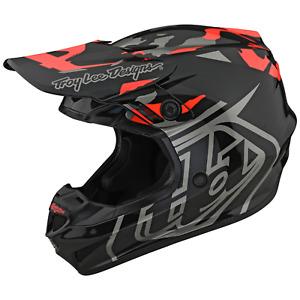 Troy Lee Designs Se4 GP Helmet TLD Mx Motocross Dirt Bike Enduro CAMO ROCKET RED