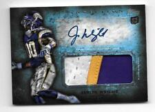 2012 Topps Inception Jarius Wright Rookie Patch Auto
