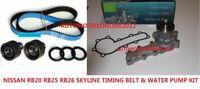 RACING TIMING BELT KIT + WATERPUMP for NISSAN SKYLINE R32 R33 R34 RB20 RB25 RB26