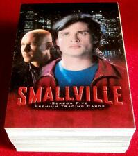 SMALLVILLE - SEASON FIVE - COMPLETE BASE SET of 90 cards - Inkworks 2006