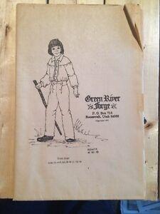 GREEN RIVER FORGE Boy's Shirt Pattern Size S-L