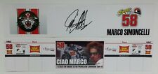 MINICHAMPS MARCO SIMONCELLI 1/12 - BANNER BOX VALENCIA 2011 LIMITED EDITION NEW
