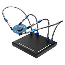 Flexible Third Hand 4 Helping Arms Metal Base Soldering Station Welding Tool  !