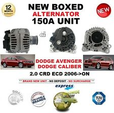 FOR DODGE AVENGER CALIBER 2.0 CRD ECD 2006-ON NEW 150A ALTERNATOR UNIT 1968cc