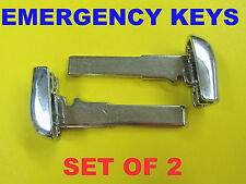 NEW Set Of 2 High Security Emergency Keys For Proximity Smart Remote M3N40821302