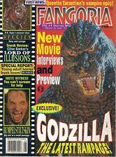 1995 Fangoria Horror #145 From Dusk Till Dawn Godzilla Species Crying Freeman