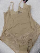 Maidenform Body Briefer Shapeware Firm Tan Beige Curvy Wear Your Own Bra Size XL