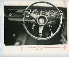 Hillman Avenger Car Interior - 1970 Press Photo