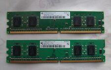Paquete De 4X 256 MB DDR2 Ram PC2-3200/4200