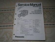 Panasonic NV-M40 Service Manual