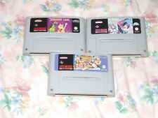 Super Street Fighter II Turbo, Spiderman Vs X Men, dragones guarida SNES PAL UK
