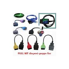 KIT DIAGNOSI AUTO FIAT ALFA LANCIA ELM327 USB V1.4 + KKL + Adattatori TIPO 1-2-3