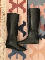 Loeffler Randall Matilde Flat Boot, Black, 7.5