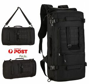 Protector plus 50L 3 Way Outdoor Camouflage Multifunctional Luggage Bag Military