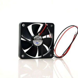 1pc ADDA AD0605MB-G70 6010 6CM 5V 0.15A 2-wire ultra-thin silent cooling fan