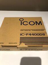 ICOM IC-F4400DS UHF (IDAS) PORTABLE RADIO FREQUENCY BAND 450-520 MHz