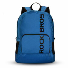 ROCKBROS Waterproof Foldable Backpack Hiking Cycling Outdoor Sport Blue Bag