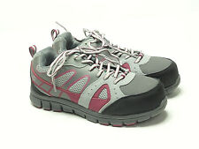 AGGRESSOR Women's Steel Toe Steel Plate Safety Work Sneakers Shoes Size 7
