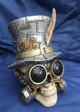 Steampunk Count Archibald Skull Nemesis Now New Boxed Ornament Skeleton