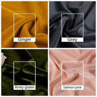Thick Velvet Fabric Dress Cloth Upholstery Background Craft Cushion Costume Soft