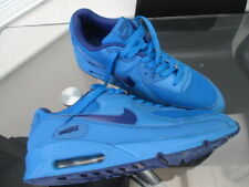 mens designer air max trainers blue size 10