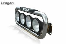 Grill Bar + Spots For DAF XF 1995 Chrome Stainless Steel Lamps Front Bar Truck