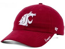 32c6852c2be New Washington State Cougars Women s Shine On Cap Hat 47 Brand Adjustable  Red