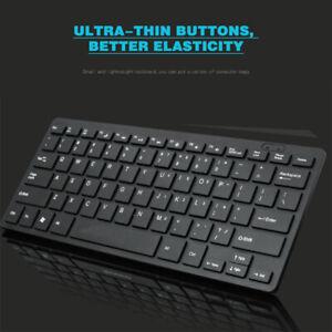 Black Mini Wired USB Keyboard Small 78 Keys Quiet for PC Desktop Laptop Computer