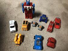 1980?s vintage Bandai Go Bots Transformers Lot Of 9