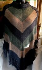 Pretty Angel Fall Colors Women's Poncho Sweater. NWT Nice Gift!