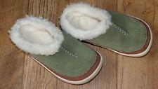 """MERRELL """" Spirit Tibet Slide"""" Green Kids Infant UK9 Thinsulate slip on shoes"""