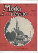 Moto Revue N°831  ; 10 février  1939  : le gonflage d'un moteur 2 temps